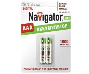 Аккумулятор Navigator 94462 NHR-1000-HR03-BR2