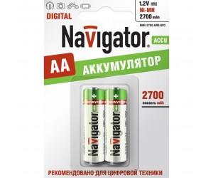 Аккумулятор Navigator 94465 NHR-2700-HR6-BR2