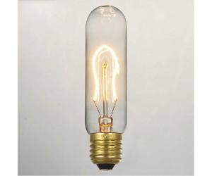 Лампа накал. 40Вт Е27 Т30/130 GOLD Jazzway RETRO(колба)
