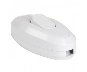 Выключатель для бра 1кл. белый TDM(38448)