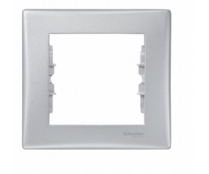 Седна Рамка 1-м алюмин. SDN5800160( 89463)