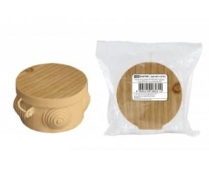 Коробка расп. SQ1401-0701 (65*40) отк.уст. Сосна (60шт.) TDM(69871)