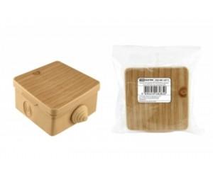 Коробка расп. SQ1401-0711 (65*65*50) отк.уст. Сосна (45шт.) TDM(82619)