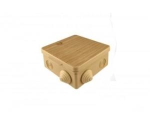 Коробка расп. SQ1401-0712 (80*80*50) отк.уст. Cосна (32шт.) TDM(70055)