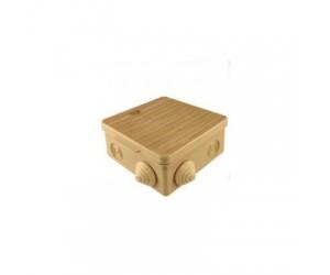 Коробка расп. SQ1401-0713 (100*100*55) отк.уст. Cосна (18шт.) TDM(56743)
