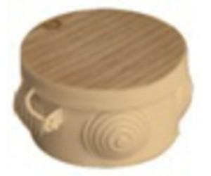 Коробка расп. SQ1401-0702 (85*40) отк.уст. Сосна (32шт.) TDM(55200)