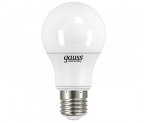 Лампа светодиодная LED А60 7W E27 4100 Gauss Elem.