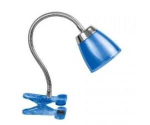 Настольная лампа NDF-C006-6Вт-4000К-B 71836 прищепка синий