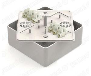Коробка расп. GE41222-01 (100*100*44) отк.уст. с ЗВИ (25шт.) Greenel