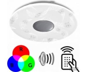 Светильник потолочный A-PLAY 60Вт RGB IP20 cо встроенн. колонкой