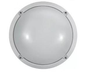 Светильник светодиодный OBL-R1-7W-4000K-WH-IP65 с оптико-акуст. датч.ОНЛАЙТ 71622