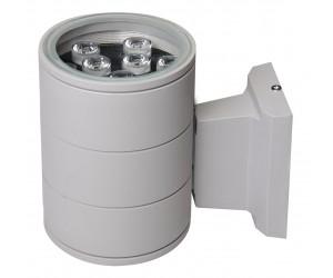 Светильник светодиодный  РWL-145110/24D Grey 9Вт 6500К 600Лм IP  65 фасадный Jazzway