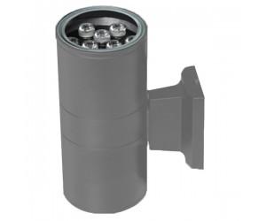 Светильник светодиодный  РWL-245110/24D Grey 18Вт(2*9) 6500К 700Лм IP65 фасадный Jazzway