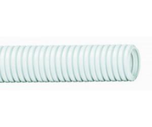 Труба гофрированная ПВХ d20 с зондом бел.