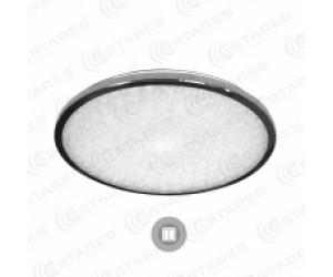 Светильник потолочный SIYANIE CRISTAL 60Вт R-515 220В IP20 круг п/у