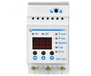 Ограничитель мощности ОМ-163 с контролем напряж.160-280VAC 14кВА