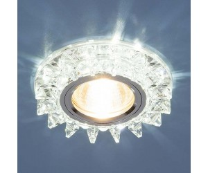 Светильник точечный EL 6037 зерк./золото (YL/GD) (40215)