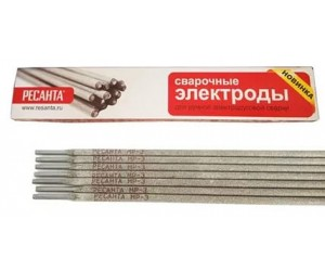 Электрод МР-3 (4мм) 3кг Ресанта