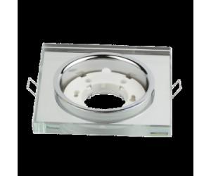 Светильник точечный GX53R КВАДРАТ зерк. IN HOME (485673)