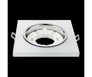 Светильник точечный GX53R КВАДРАТ мат. IN HOME (599408)