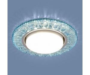 Светильник точечный EL 3022 GX53 BL лазурный (368368)