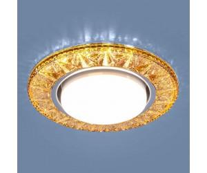 Светильник точечный EL 3022 GX53 GD золото (317938)