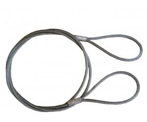 Буксировочный трос (стальной) 12т 5м