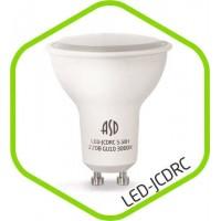 Лампа светодиодная JCDR 7.5Вт GU10 3000K 675Лм  230В ASD(181214)