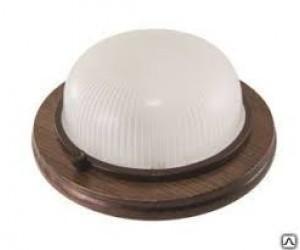 Светильник НПБ 1301 венге/круг  60Вт IP 54