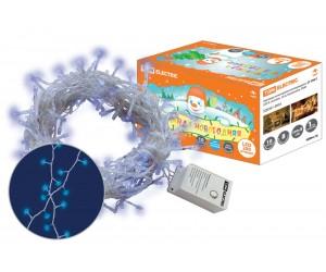 Гирлянда светодиодная СГ 200 Г голубая 10м 8 реж ip20 ТДМ(63341)