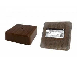 Коробка расп. SQ1401-0305 (75*75*28) отк.уст. бук TDM(195507)
