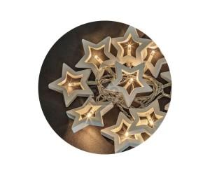 Гирлянда 14047 NGF-D009-10CW-2AA деревянные звездочки Navigator (608753)