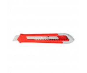 Нож 18мм с выдвижным лезвием ABS-пластик (78928)