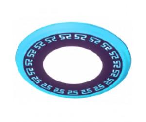 Светильник светодиодный DK LED12-9 BL син.подсвет.6+3W ЭРА
