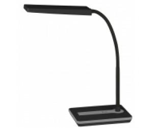 Настольная лампа LED 446-9W-ВК чер. ERA