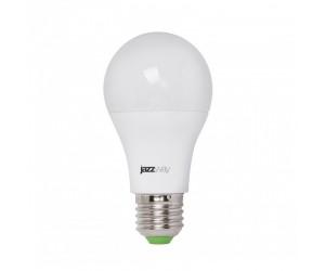 Лампа светодиодная LED А60 9Вт Е27 CLEAR прозач.(для растений) JazzWay