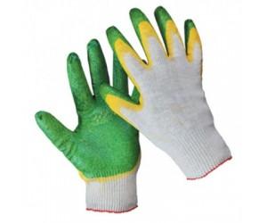 Перчатки ХБ с двойн.латексным обливом