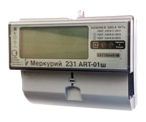 Эл.счетчик Меркурий 231АRT -01ш