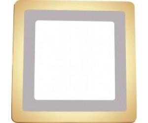 Светильник светодиодный Квадрат LED 2CLS 16Вт 3000-6500К LEEK