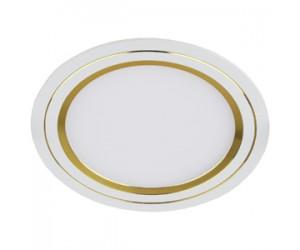 Светильник светодиодный KL LED11-7 GD круглый золото ЭРА
