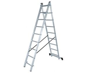 Лестница алюминиевая двухсекционная ЛА 2х9 Вихрь