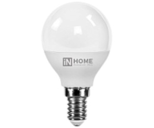 Лампа светодиодная ШАР 4Вт Е14 4000К  IN HOME