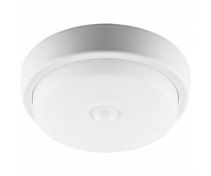Светильник светодиодный  AL 3006 12W с датч.движ. 6500К 900Лм IP54  круг.бел