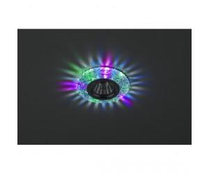 Светильник точечный DK LD3 SL/RGB   подсветка RGB прозрачный ЭРА