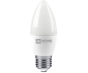 Лампа светодиодная свеча 8Вт Е27  4000K  IN HOME